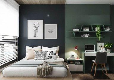 Ấn tượng trước vẻ đẹp của những mẫu phòng ngủ cho các bạn trẻ
