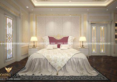 Mẫu thiết kế phòng ngủ cao cấp cho nhà biệt thự