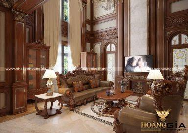 Top 15 mẫu sofa gỗ tự nhiên đẹp nhất 2021