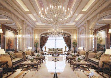 Mẫu thiết kế nội thất biệt thự tân cổ điển sang trọng đầy đẳng cấp