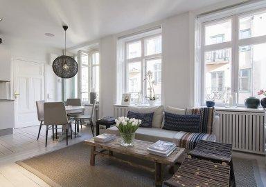 Mẫu thiết kế căn hộ mở đầy thoáng đãng và ấn tượng