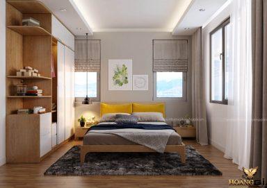 Mẫu thiết kế phòng ngủ đẹp hiện đại PNHĐ 21