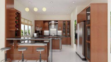 Quầy bar trong bếp – Mẫu tủ bếp có quầy bar đẹp nhất
