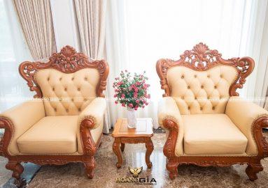Tìm hiểu mua sofa gỗ gõ đỏ ở đâu uy tín, chuyên nghiệp?