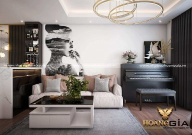 Nắm vững các nguyên tắc thiết kế phòng khách sang trọng, ấn tượng