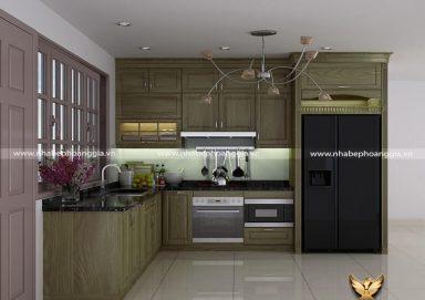Ấn tượng đầy thu hút với một số mẫu nhà bếp đẹp cho nhà cấp 4