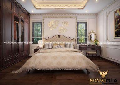 Mẫu thiết kế nội thất phòng ngủ con gái nhà anh Cảnh