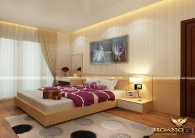 Mẫu thiết kế phòng ngủ phong cách hiện đại PNHD 01