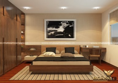 Mẫu thiết kế phòng ngủ hiện đại PNHD 03