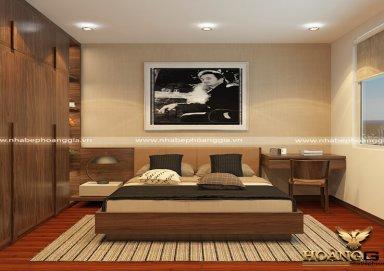 Mẫu thiết kế phòng ngủ phong cách hiện đại PNHD 03
