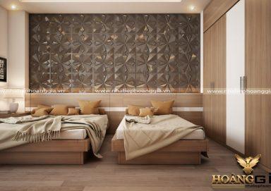 Mẫu thiết kế phòng ngủ phong cách hiện đại PNHD 05