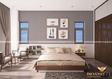 Mẫu thiết kế phòng ngủ đẹp hiện đại PNHD 06
