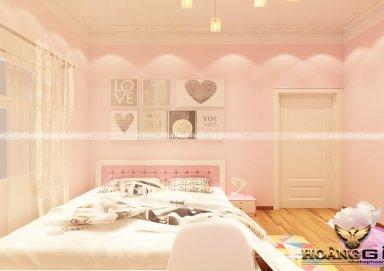 Mẫu thiết kế phòng ngủ bé gái hiện đại PNHD 12