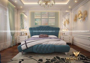 Mẫu thiết kế nội thất phòng ngủ tân cổ điển TCĐ 31