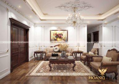 Thiết kế nội thất phòng sinh hoạt chung nhà anh Cảnh