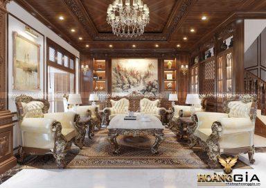 Tìm hiểu xu hướng thiết kế nội thất tân cổ điển gỗ tự nhiên 2020
