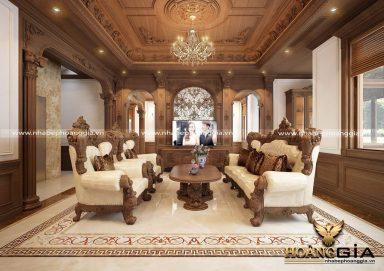 Dự án thiết kế thi công nội thất tân cổ điển nhà anh Dũng (Vinhomes Imperia Hải Phòng)