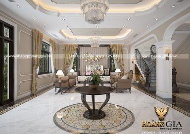 Thiết kế nội thất tân cổ điển nhà biệt thự sang trọng đầy cuốn hút