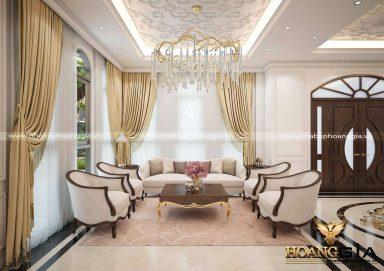 Thiết kế nội thất tân cổ điển Christopher Guy nhà chị Lan Anh