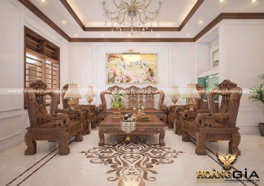 Dự án thiết kế và thi công nội thất nhà anh Tùng (Thanh Hóa)
