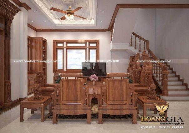 Dự án thiết kế thi công nội thất tân cổ điển nhà chị Thủy (Lâm Đồng)