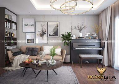 Mẫu thiết kế phòng khách hiện đại đẹp đầy ấn tượng