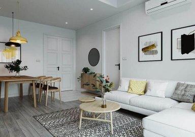 Thiết kế phòng khách ấn tượng cho nhà chung cư