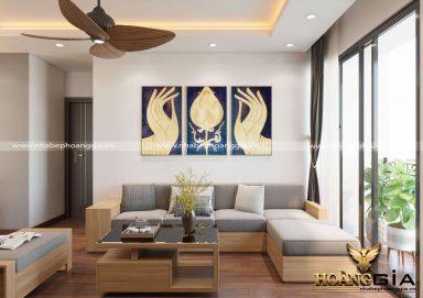 Dự án thiết kế và thi công nội thất chung cư nhà chị Mai (An Bình City, Hà Nội)