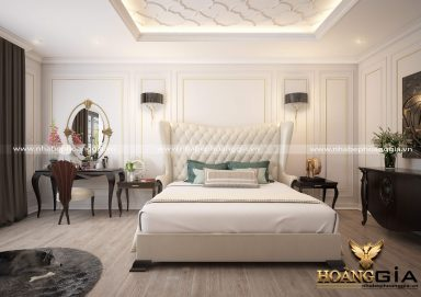 Mẫu thiết kế phòng ngủ cao cấp PNCC06