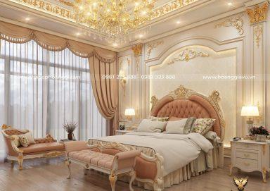 Gợi ý thiết kế phòng ngủ tân cổ điển dát vàng đẳng cấp