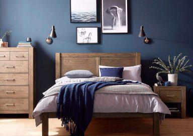 Tham khảo các phối màu phòng ngủ màu xanh navy đẹp lạ mắt