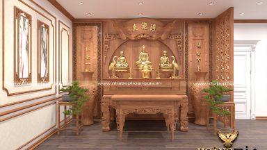 Lựa chọn phương vị đặt bàn thờ phù hợp với phong thủy nhất