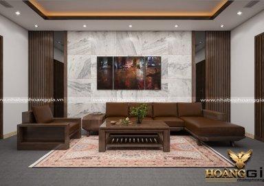 Mẫu thiết kế phòng khách hiện đại PKHD06