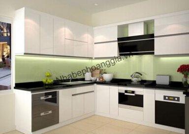 Mẫu tủ bếp Acrylic 11