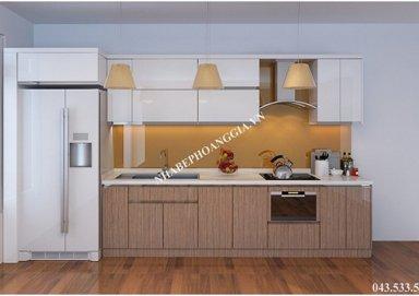 Mẫu tủ bếp gỗ Lamilate 08