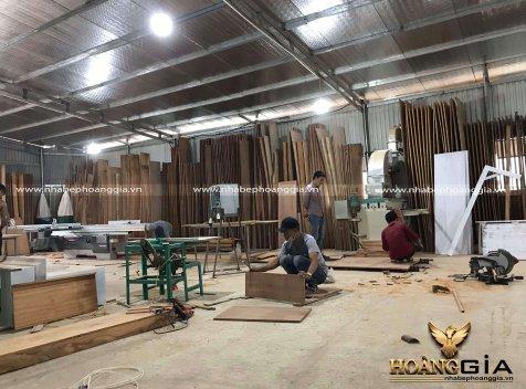 Xưởng sản xuất thi công nội thất gỗ uy tín, chất lượng