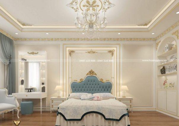 Công trình thiết kế nội thất biệt thự nhà anh Thắng (Vinhomes Marina, Hải Phòng)