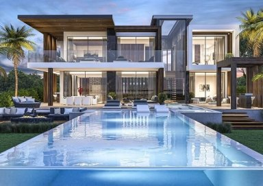 Thiết kế biệt thự có hồ bơi đầy ấn tượng