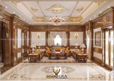 Dự án thiết kế nội thất tân cổ điển hoàng gia đẳng cấp