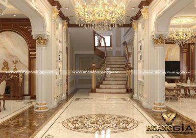 Tư vấn thiết kế cầu thang biệt thự tân cổ điển đầy đẳng cấp