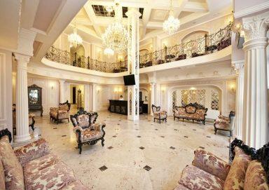 Mẫu thiết kế khách sạn mang phong cách Châu Âu