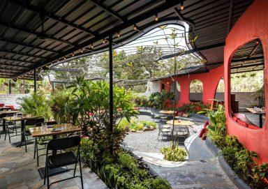 Mẫu thiết kế nhà hàng sân vườn đẹp sang trọng 2019
