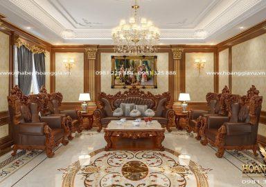Dự án thiết kế thi công nội thất biệt thự nhà anh Giang (Lào Cai)