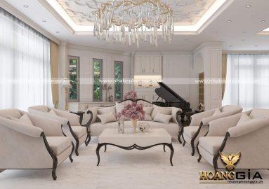 Dự án thiết kế và thi công nội thất biệt thự Christopher Guy nhà anh Hà (Hải Dương)
