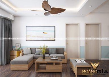 Mẫu thiết kế nội thất chung cư hiện đại đầy ấn tượng