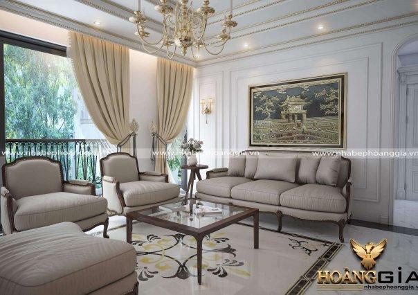 Dự án thiết kế nội thất nhà cô Luyến (Ecopark, Hà Nội)