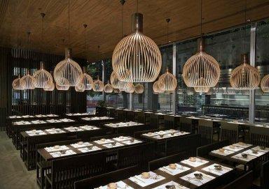 Thiết kế nội thất nhà hàng ẩm thực Hàn Quốc đầy ấn tượng