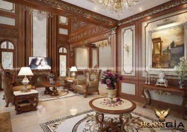 Bí mật trong thiết kế nội thất phong cách hoàng gia đẳng cấp