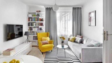 5 mẫu thiết kế nội thất phòng khách nhỏ đầy thu hút