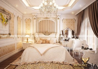 Mẫu thiết kế nội thất phòng ngủ cao cấp PNCC 11